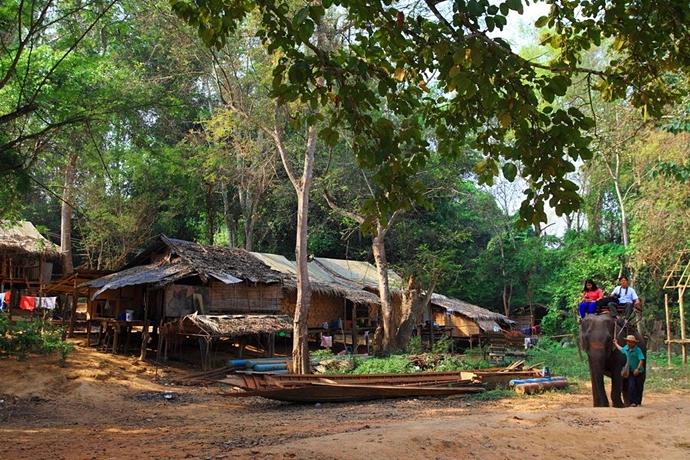 หมู่บ้านช้างไทรโยค-Kon-Nokkok